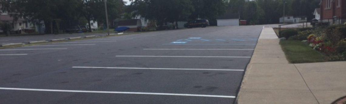 Payne Parking Lot Project