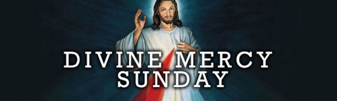 Join us on Divine Mercy Sunday