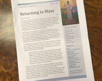 Return to Public Masses