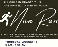 Nun Run for Girls in grades 7 - 12